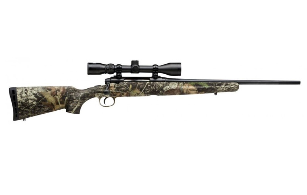 "Savage Arms Axis XP Camo Compact Youth w/ Scope Mossy Oak 20"" CALIFORNIA LEGAL - 6.5 Creedmoor"