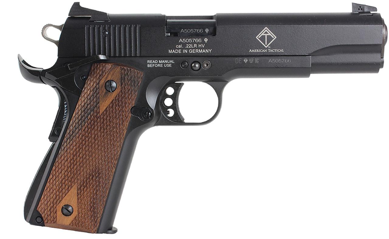 """GSG 1911 Walnut Grip 5"""" CALIFORNIA LEGAL - .22 LR"""