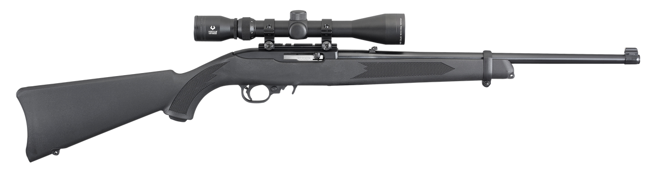 "Ruger 10/22 Carbine w/ Scope 18.5"" CALIFORNIA LEGAL - .22 LR"