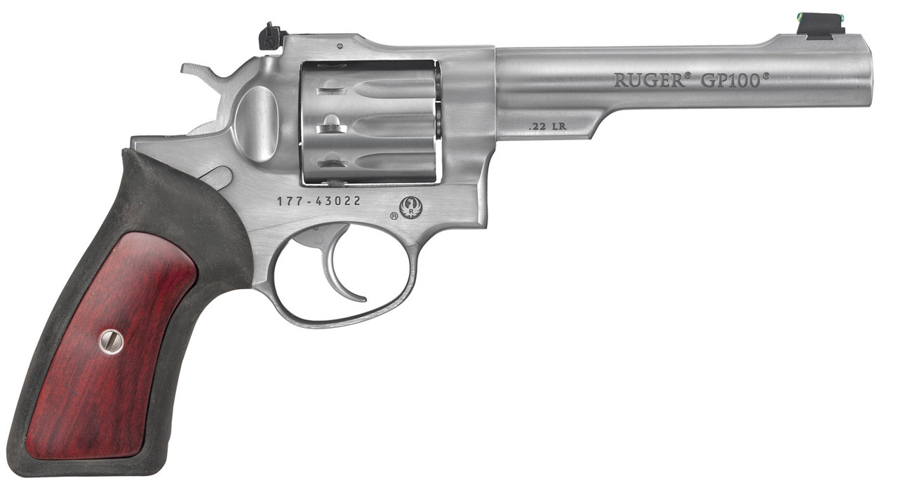 """Ruger GP 100 Standard Stainless 5.5"""" CALIFORNIA LEGAL - .22LR"""