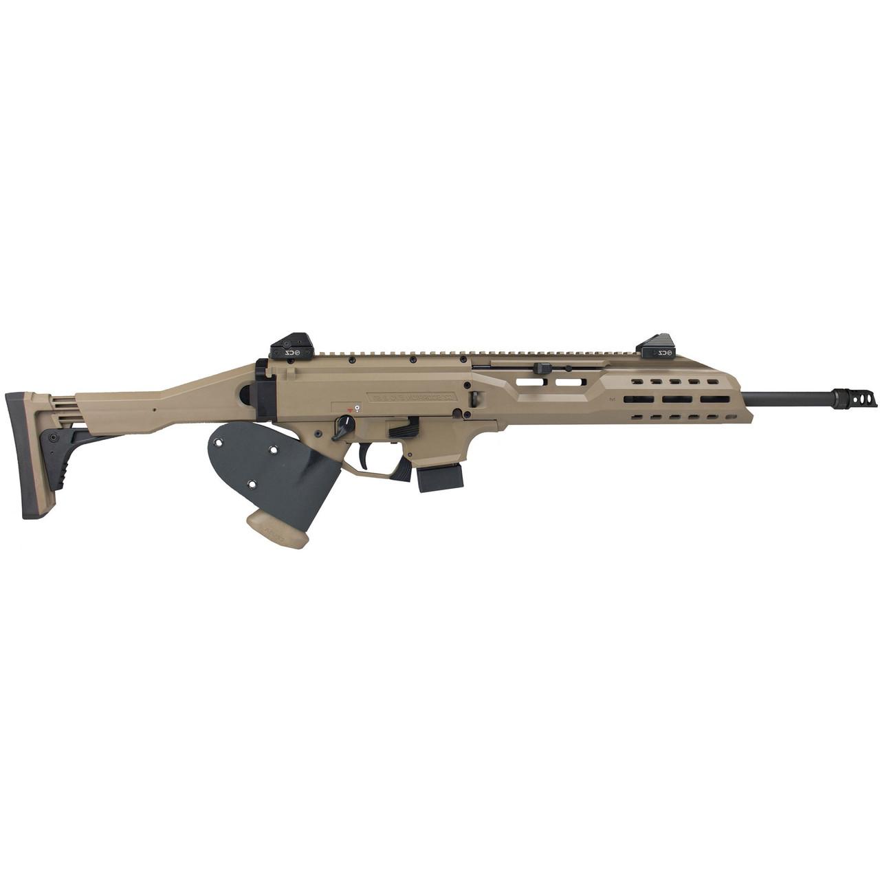 CZ Scorpion EVO 3 S1 Carbine Threaded Barrel FDE CALIFORNIA LEGAL - 9mm