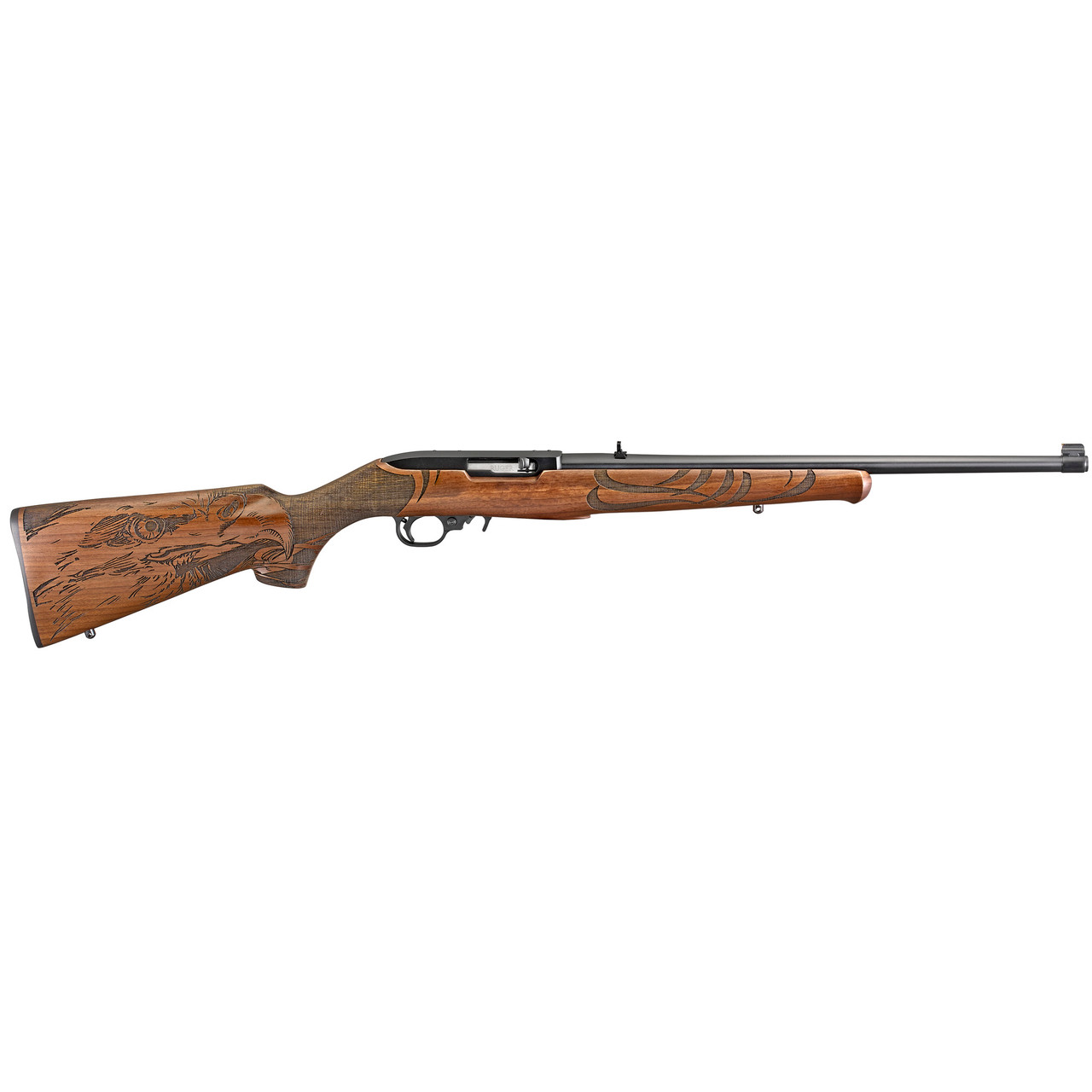 Ruger 10/22 Sporter Engraved Talo Exclusive CALIFORNIA LEGAL - .22LR - Engraved Wood