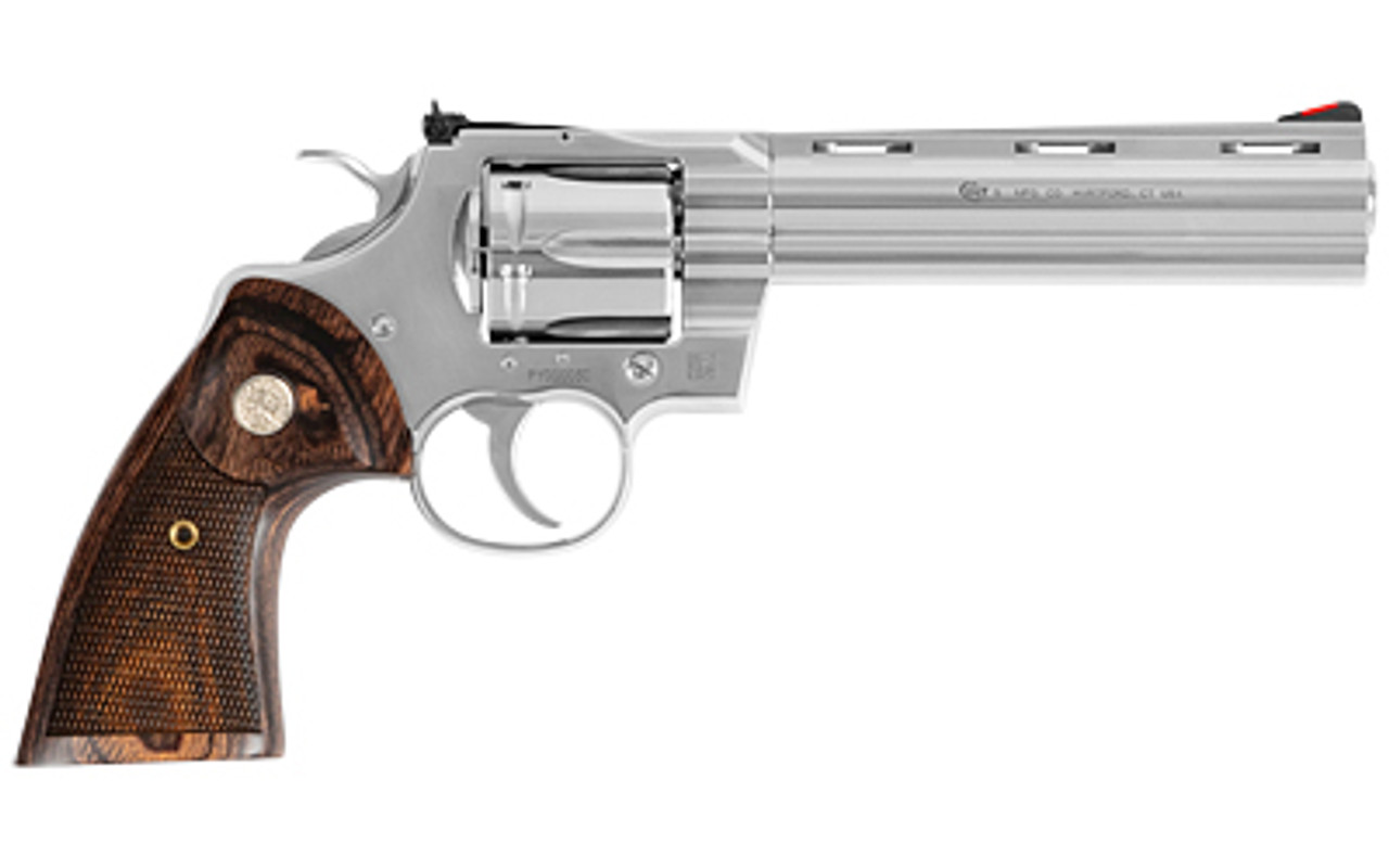 """Colt Python Stainless 6"""" CALIFORNIA LEGAL - .357 Mag"""