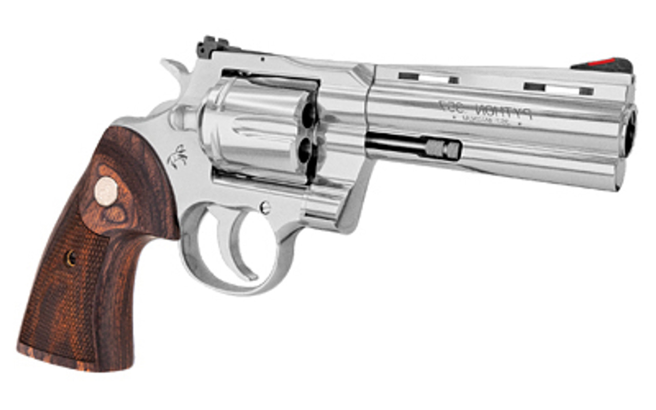 """Colt Python Stainless 4.3"""" CALIFORNIA LEGAL - .357 Mag"""