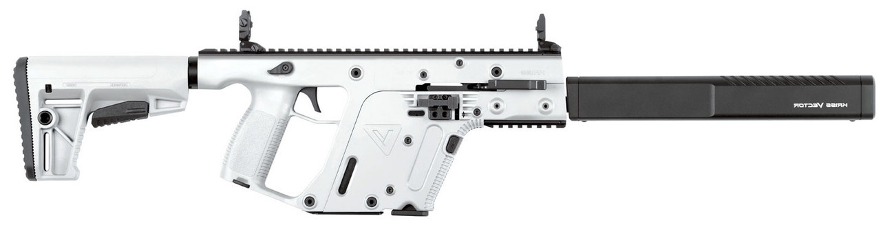 "Kriss Vector Gen II CRB Alpine White 16"" CALIFORNIA LEGAL - .22LR"