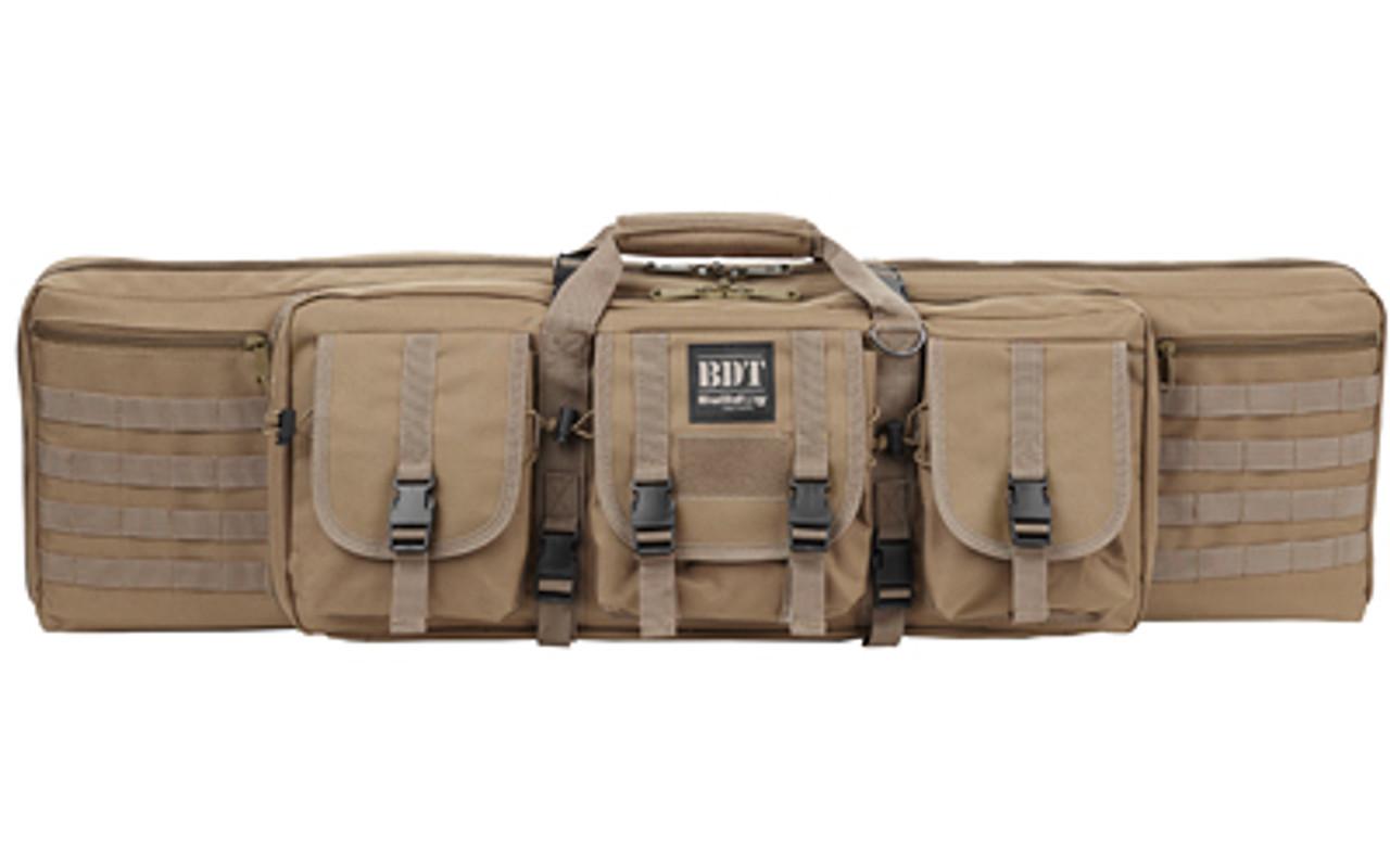 Bulldog Deluxe Tactical Rifle Case Tan
