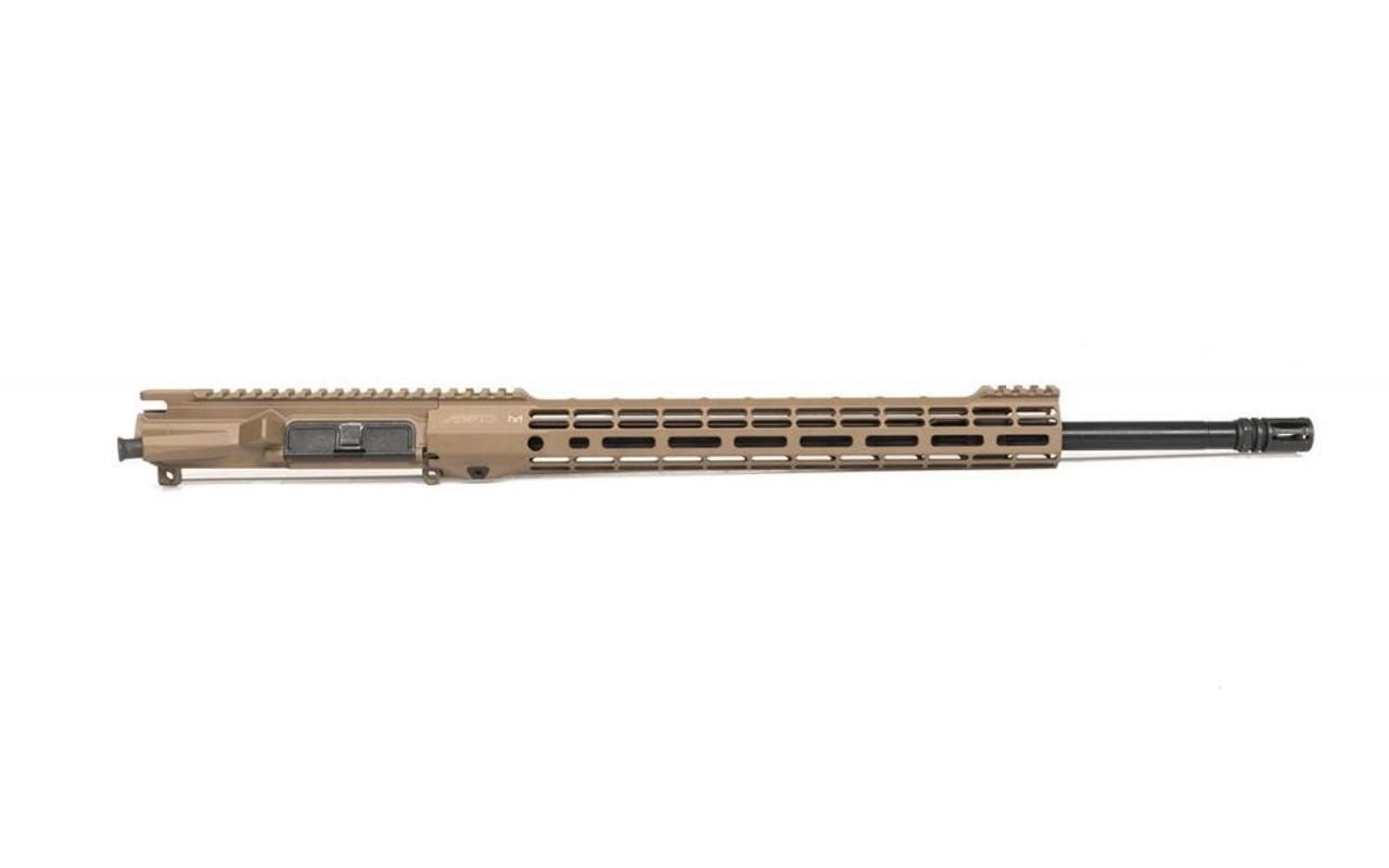 "M4E1 Threaded 20"" Complete Upper Receiver w/ ATLAS S-ONE Handguard FDE CALIFORNIA LEGAL - .223/5.56"