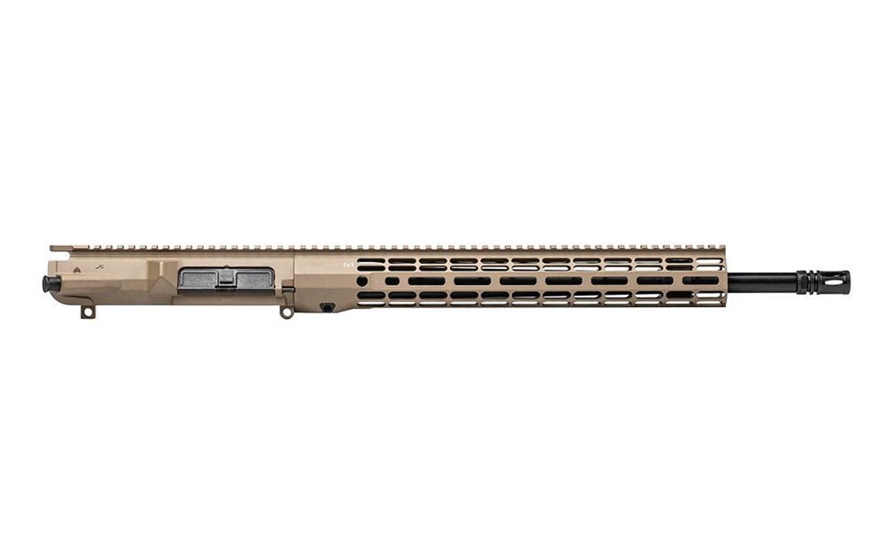 """Aero Precision M5 18"""" CMV Complete Upper Receiver w/ ATLAS R-ONE Handguard FDE CALIFORNIA LEGAL - .308 Win"""