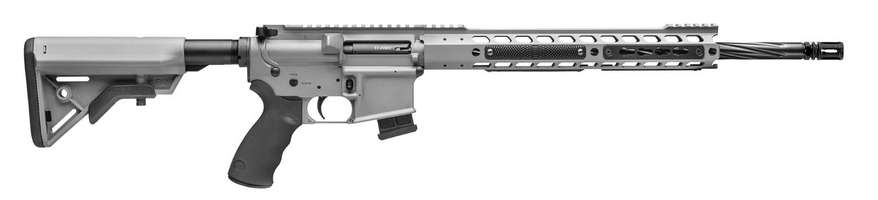 "Alexander Arms Tactical SopMod Stock Sniper Grey 18"" CALIFORNIA LEGAL - .17 HMR"