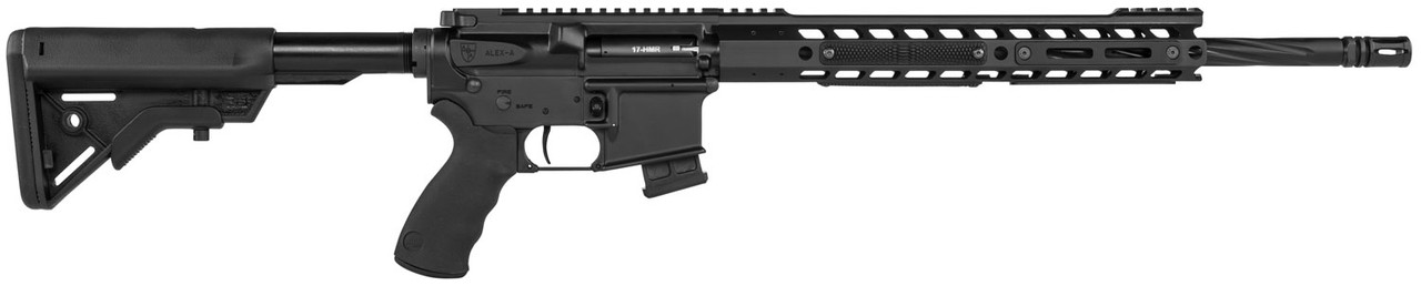 """Alexander Arms Tactical SopMod Stock 18"""" CALIFORNIA LEGAL - .17 HMR"""