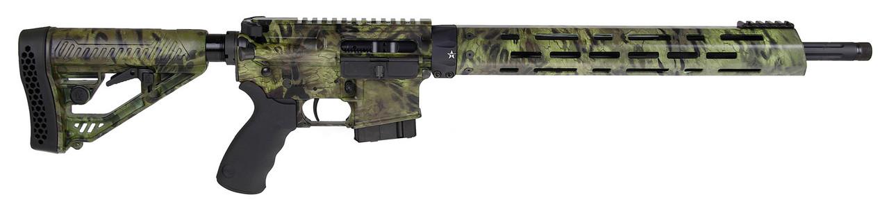 "Alexander Arms Hunter Adaptive Tactical EX Performance Woodlands Stock 18"" CALIFORNIA LEGAL - 6.5 Grendel"