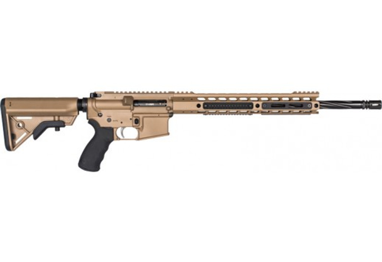 "Alexander Arms Tactical Geisselle SSA Trigger FDE 18"" CALIFORNIA LEGAL - .17 HMR"