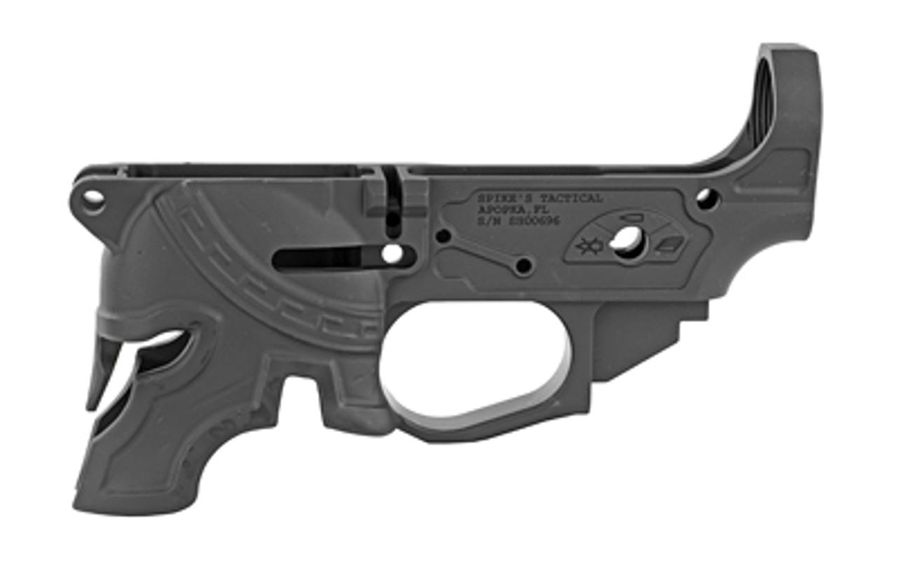 Spike's Tactical Rare Breed Spartan Stripped Lower CALIFORNIA LEGAL - .223/5.56
