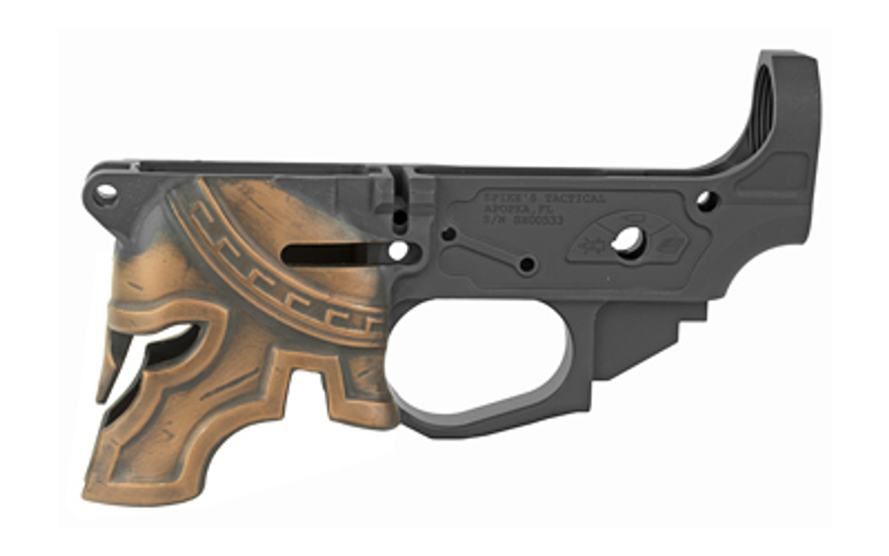 Spike's Tactical Painted Rare Breed Spartan Stripped Lowers CALIFORNIA LEGAL - .223/5.56