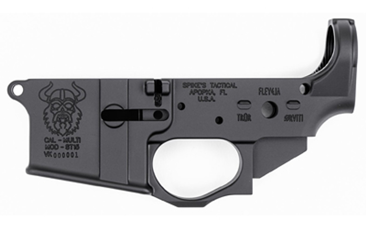 Spike's Tactical Viking Stripped Lower CALIFORNIA LEGAL - .223/5.56