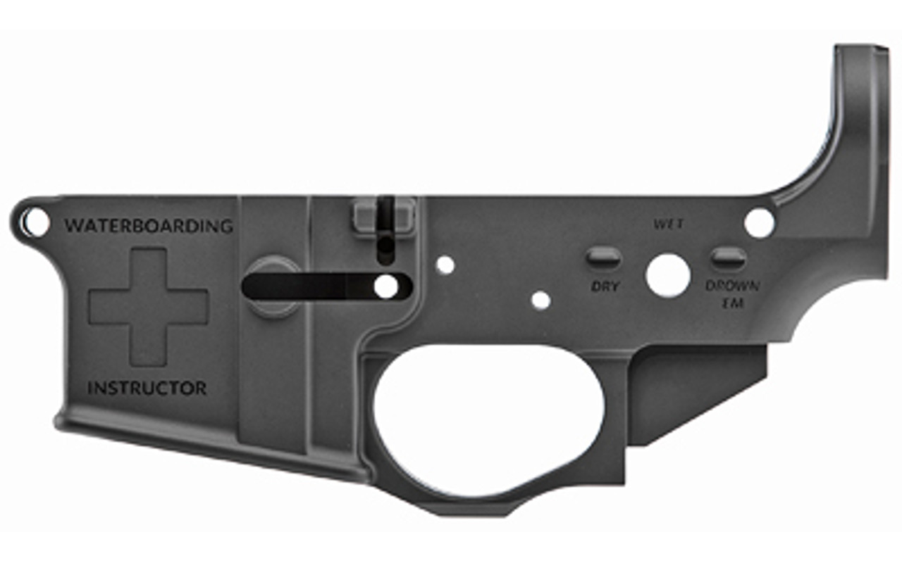 Spike's Tactical Water Boarding Instructor Stripped Lower CALIFORNIA LEGAL - .223/5.56