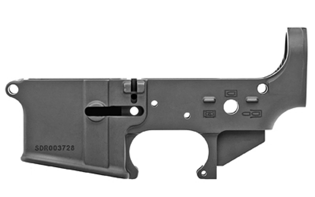 Spike's Tactical No Logo Stripped Lower CALIFORNIA LEGAL - .223/5.56