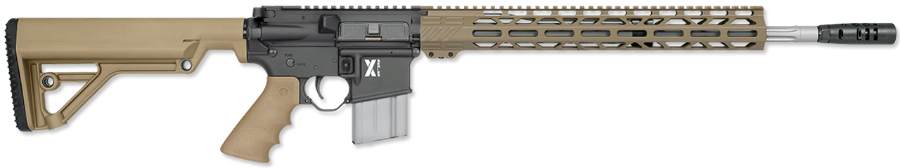 "Rock River Arms LAR-15 X-1 Operator A2 Stock Tan 18"" CALIFORNIA LEGAL - .223/5.56"