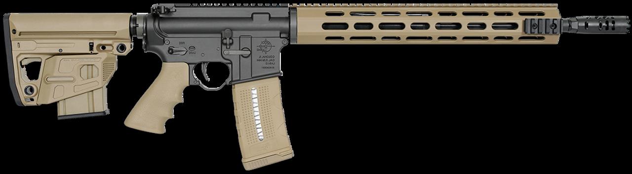 "Rock River Arms LAR-15 QMC Tan 16"" CALIFORNIA LEGAL - .223/5.56"