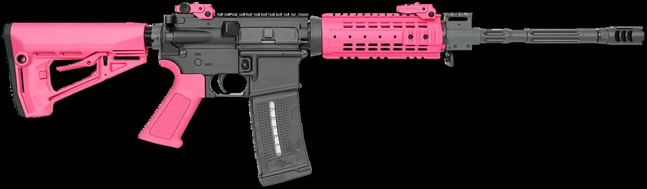 "Rock River Arms LAR-15 NSP CAR Pink 16"" CALIFORNIA LEGAL - .223/5.56"