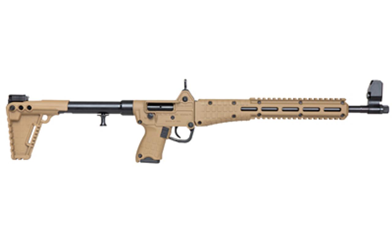 """Kel Tec Sub2000 (Glock 17) Tan 16.3"""" CALIFORNIA LEGAL - 9mm"""