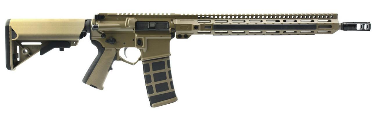 "DSArms AR15 ZM4 War Z FDE 16"" CALIFORNIA LEGAL - .223/5.56"