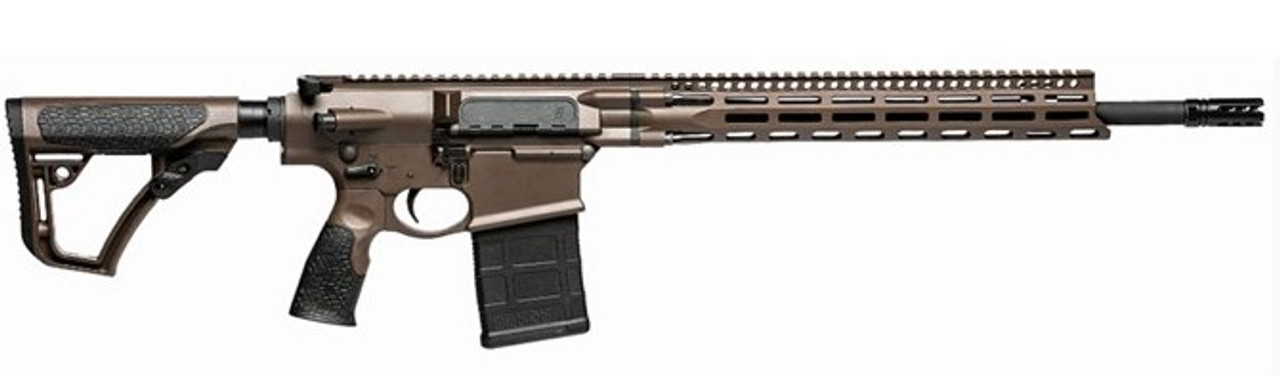 "Daniel Defense DD5 V4 Gen II Brown 18"" CALIFORNIA LEGAL - 6.5 Creedmoor"