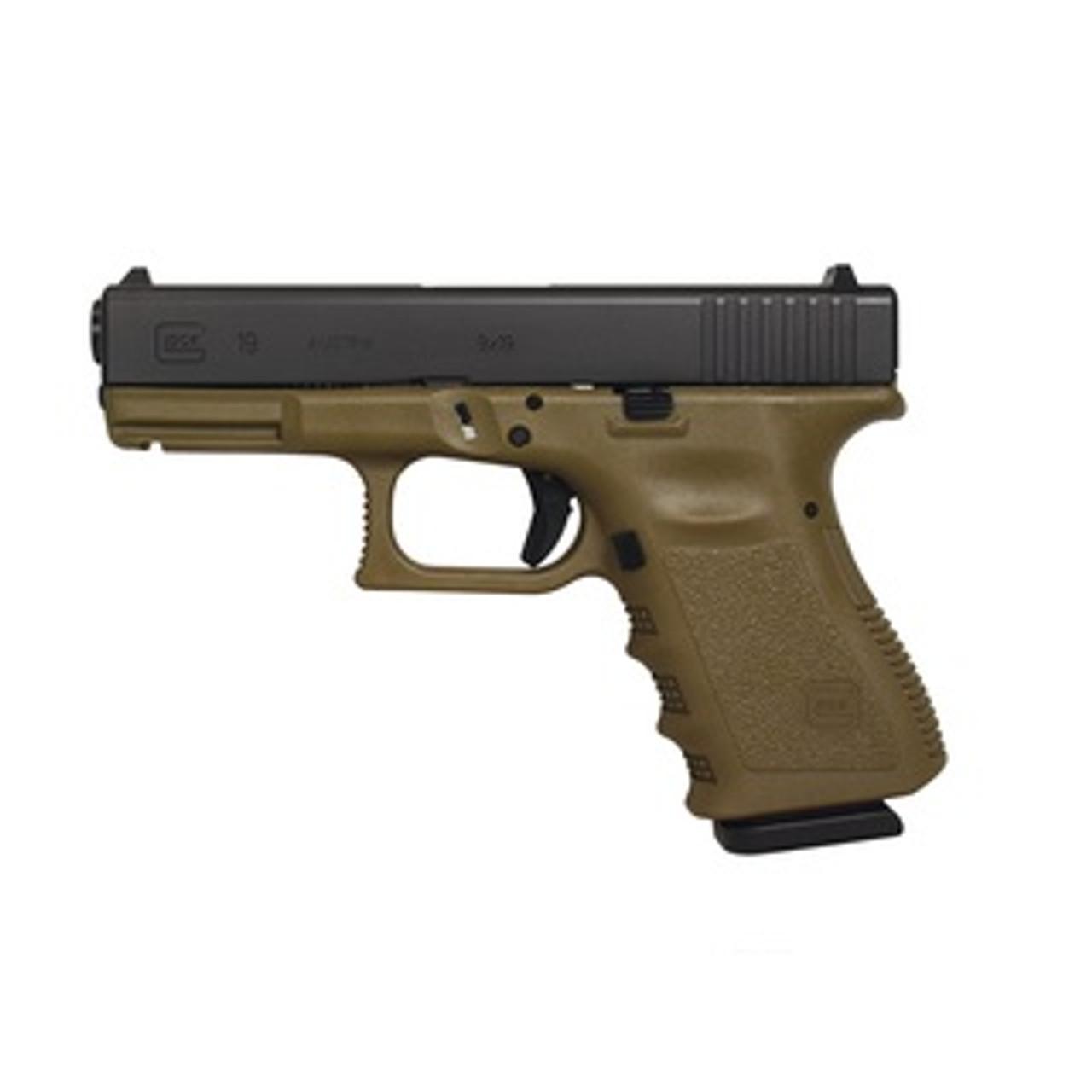 Glock 19 OD Green Gen3  CALIFORNIA LEGAL - 9mm