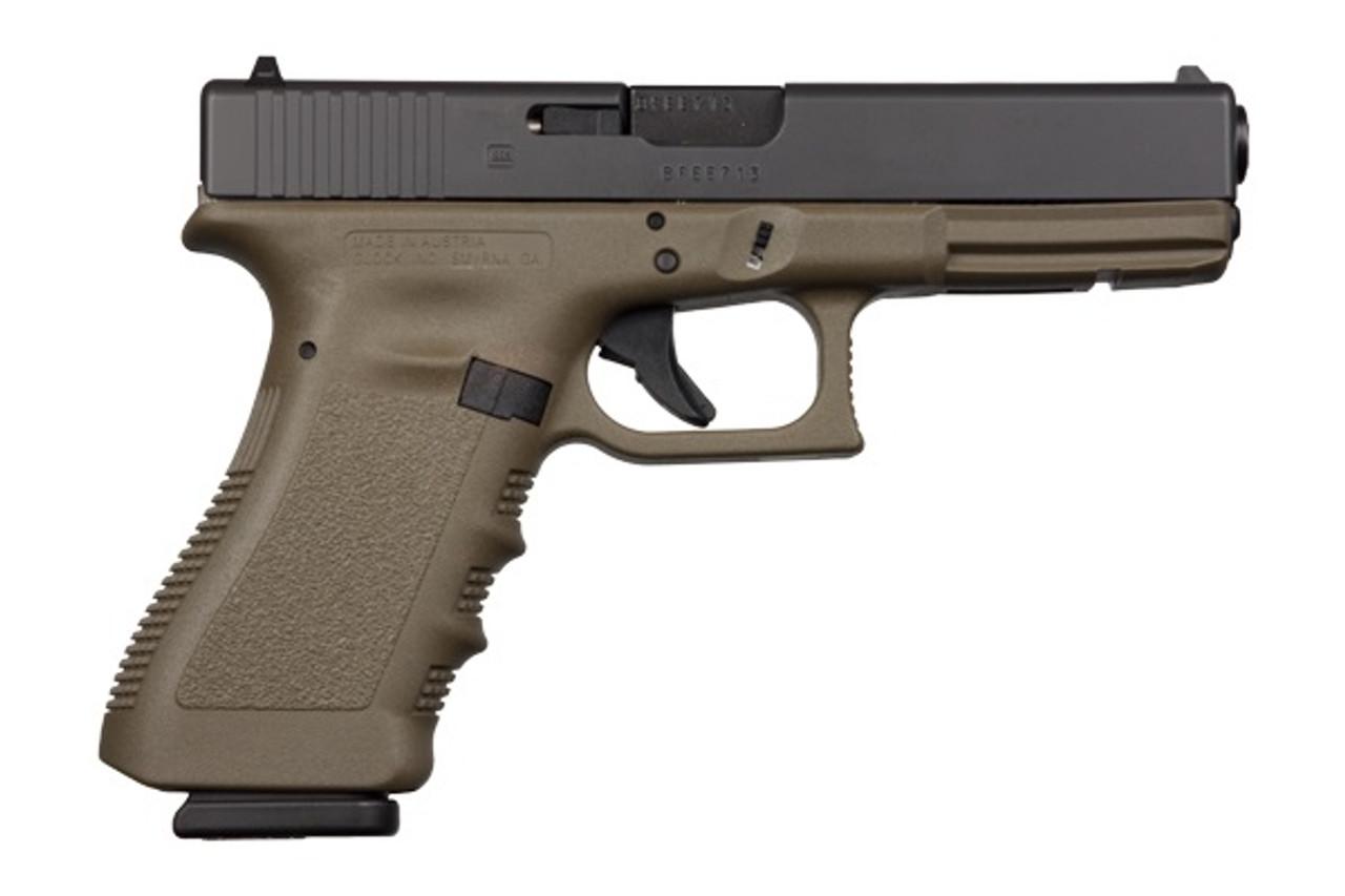 Glock 17 OD Gen3 CALIFORNIA LEGAL - 9mm
