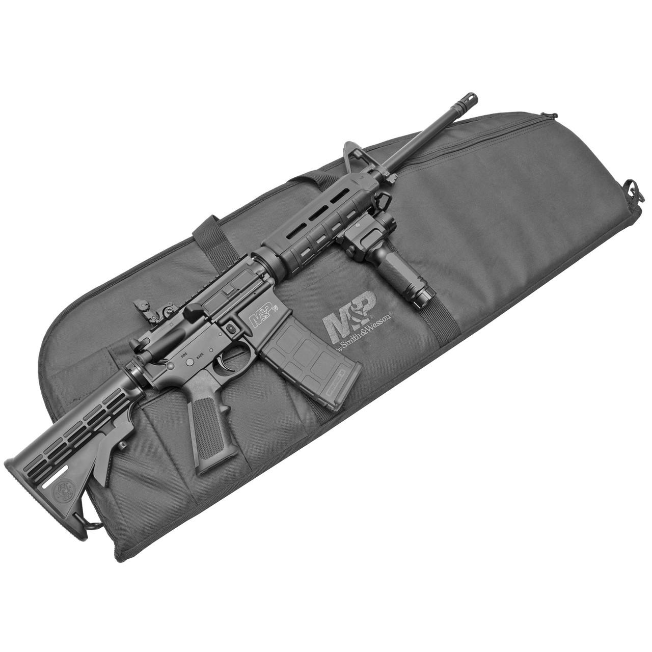 Smith & Wesson M&P 15 Sport II Crimson Foregrip CALIFORNIA LEGAL - .223/5.56