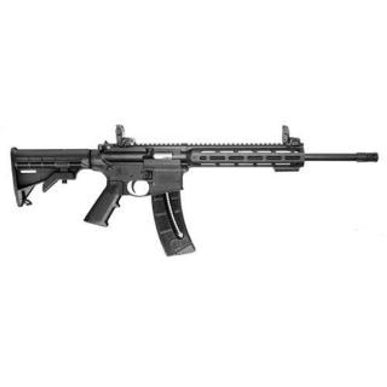 "Smith & Wesson M&P15-22 Sport 16.5"" MBUS CALIFORNIA LEGAL - .22 LR"