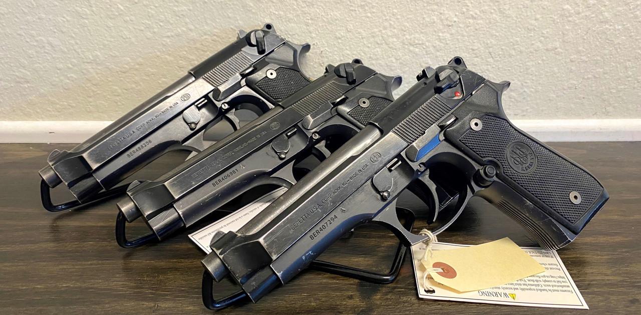 USED Beretta 92FS CALIFORNIA LEGAL - 9mm