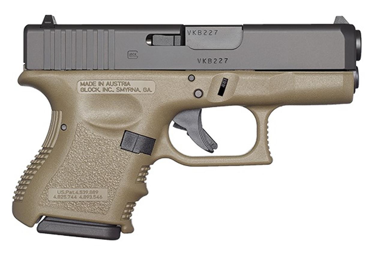 Glock 27 OD Green Gen3 CALIFORNIA LEGAL - .40S&W