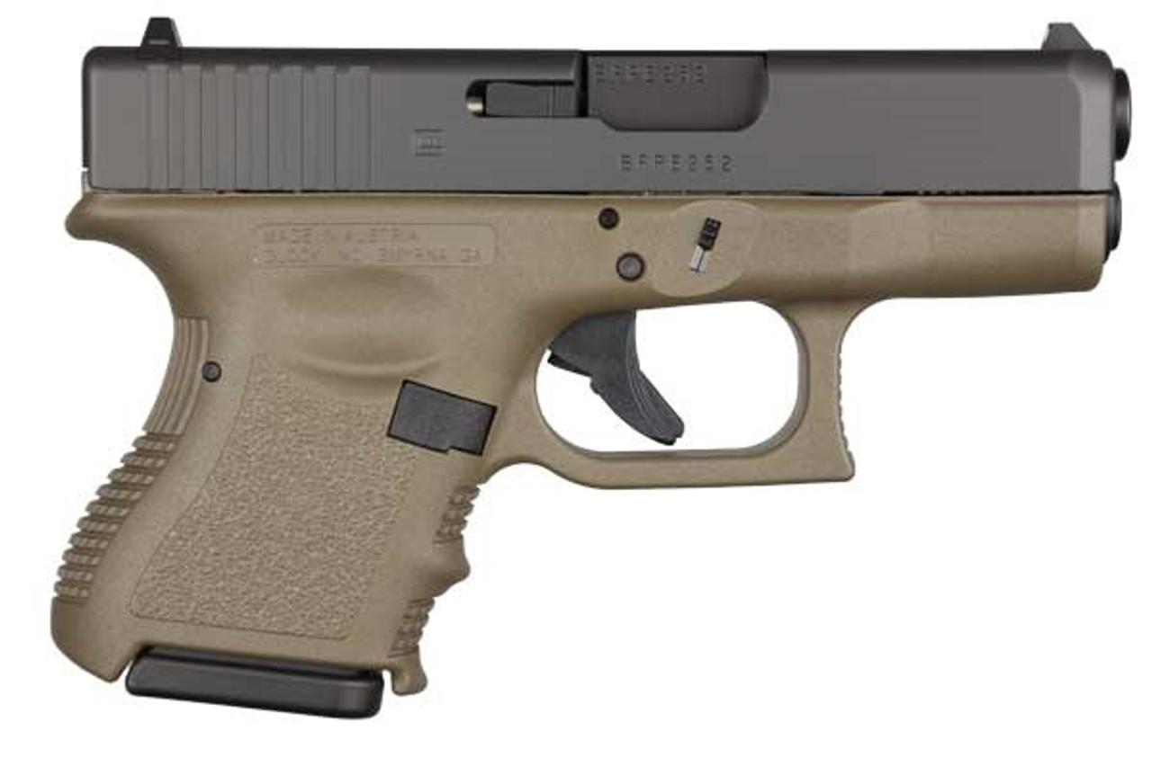 Glock 26 OD Gen3 CALIFORNIA LEGAL - 9mm