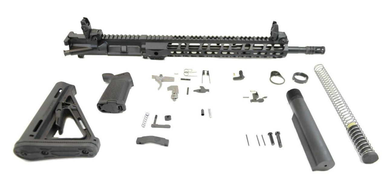 PSA Rifle Kit 16in/Carbine Lightweight Magpul W/Maglock MOE CALIFORNIA LEGAL - 5.56