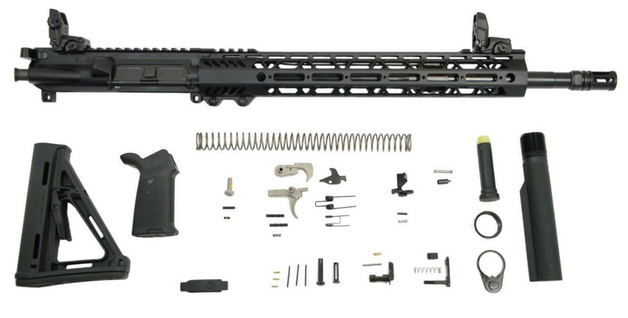 PSA Rifle Kit 16in/MidLength Lightweight Magpul MOE/EPT CALIFORNIA LEGAL - 5.56