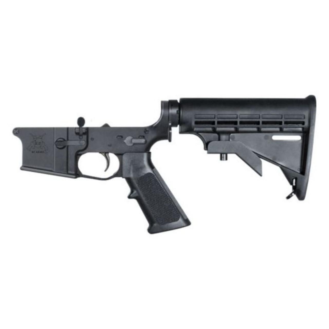 KE Arms KE15 Billet Complete Lower Receiver CALIFORNIA LEGAL - .223/5.56