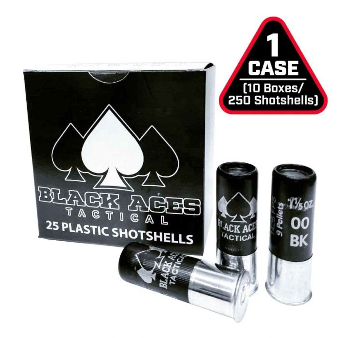 Black Aces Tactical 12ga 2 3/4'' 00 Buck -250rds