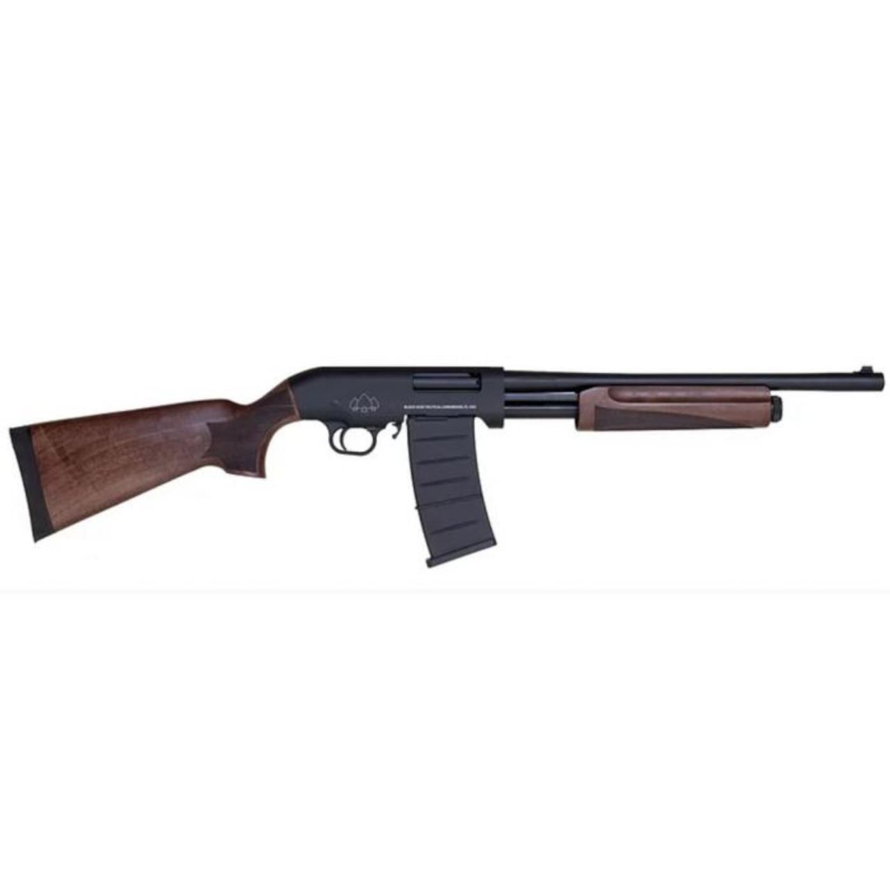 Black Aces Tactical Pro Series M Pump CALIFORNIA LEGAL - 12ga Walnut