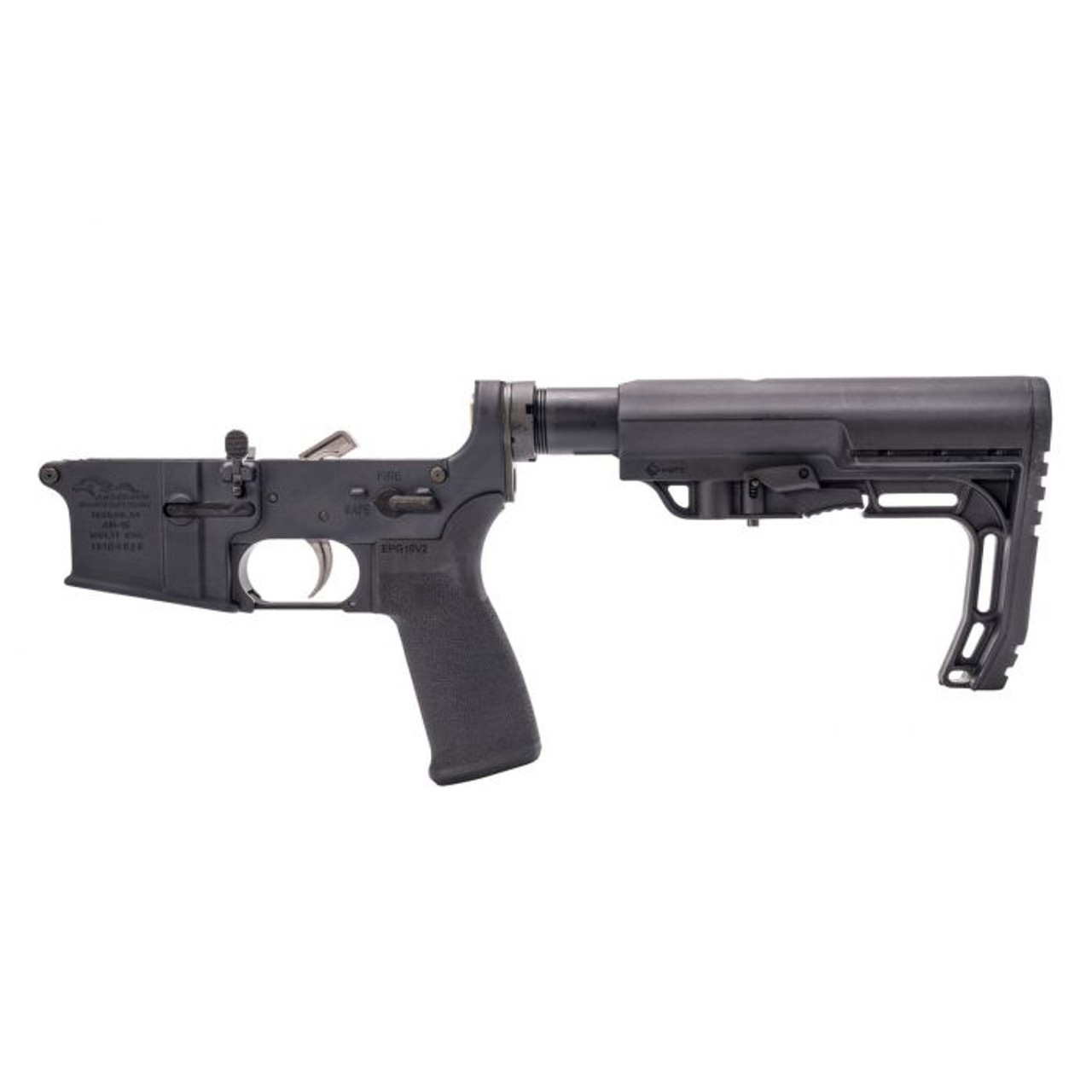 Anderson AM15 Complete Lower/MFT Stock CALIFORNIA LEGAL - .223/5.56