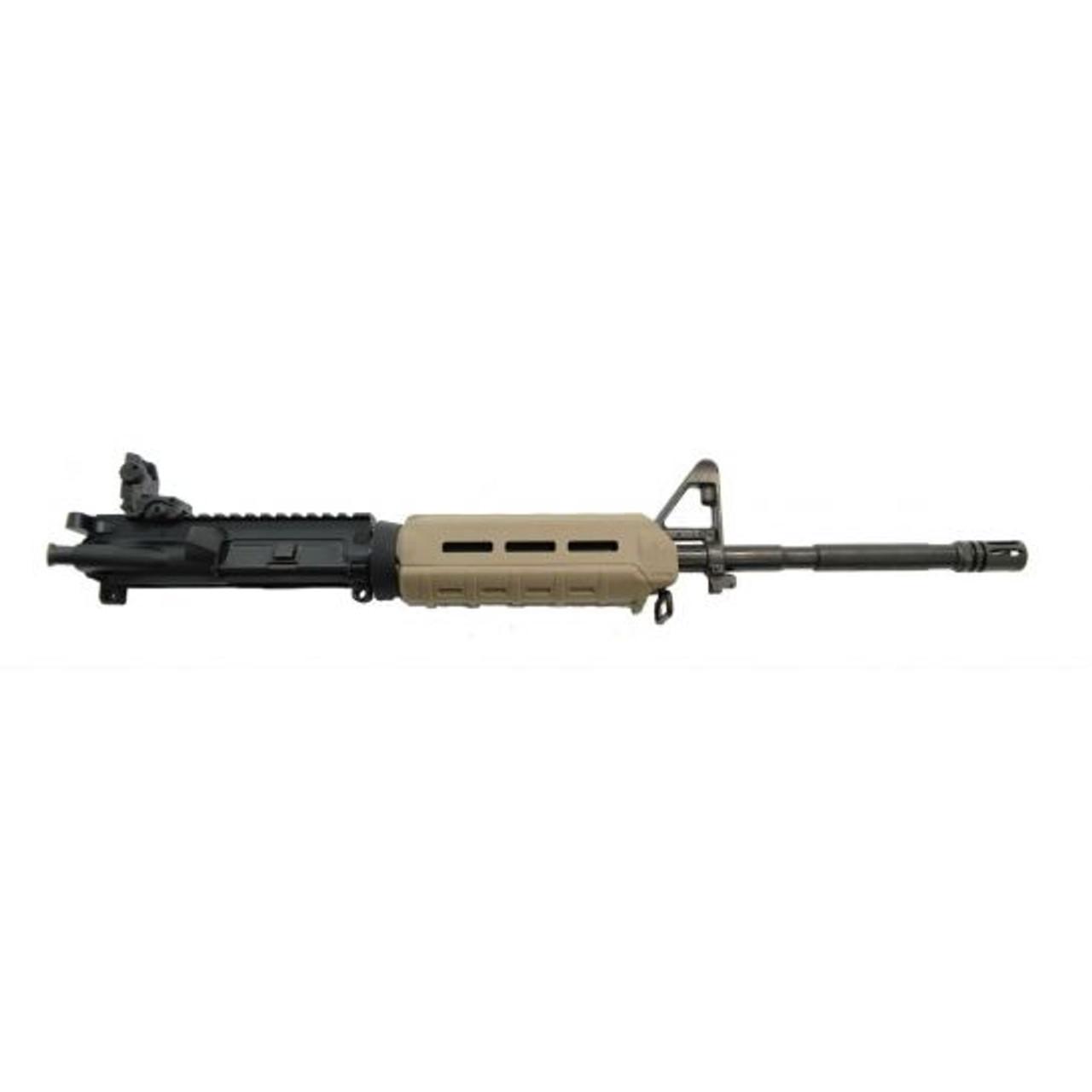 PSA Complete M4 Upper W/MBUS REAR CALIFORNIA LEGAL - .223/5.56 - FDE