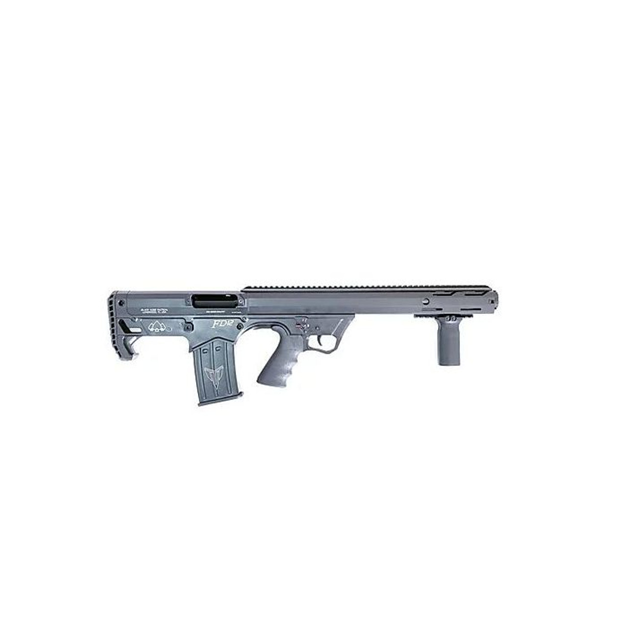 Black Aces Pro Series Bullpup Pump CALIFORNIA LEGAL- 12ga- Gray