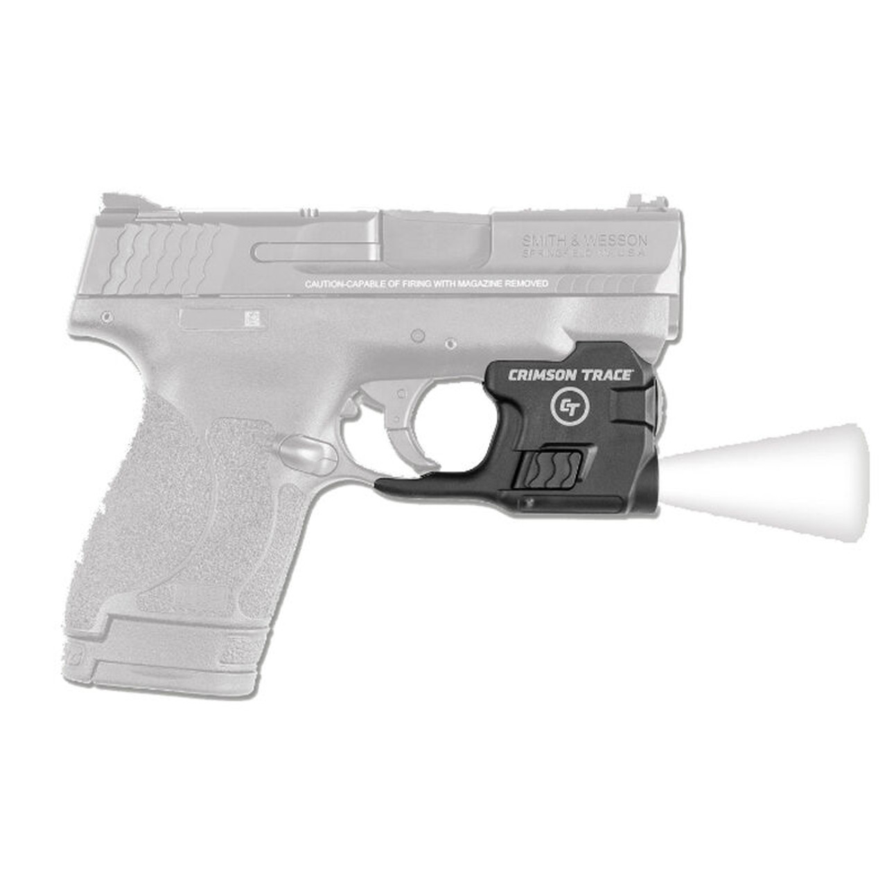 S&W M&P Shield With Crimson Trace Weapons Light CALIFORNIA LEGAL - 9mm