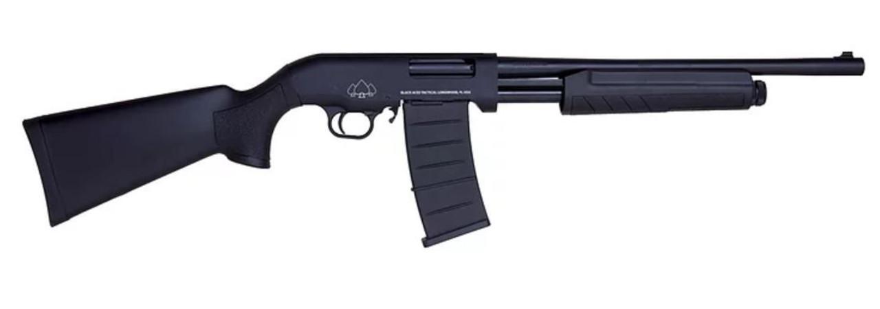 Black Aces Pro Series M Pump CALIFORNIA LEGAL - 12ga Black