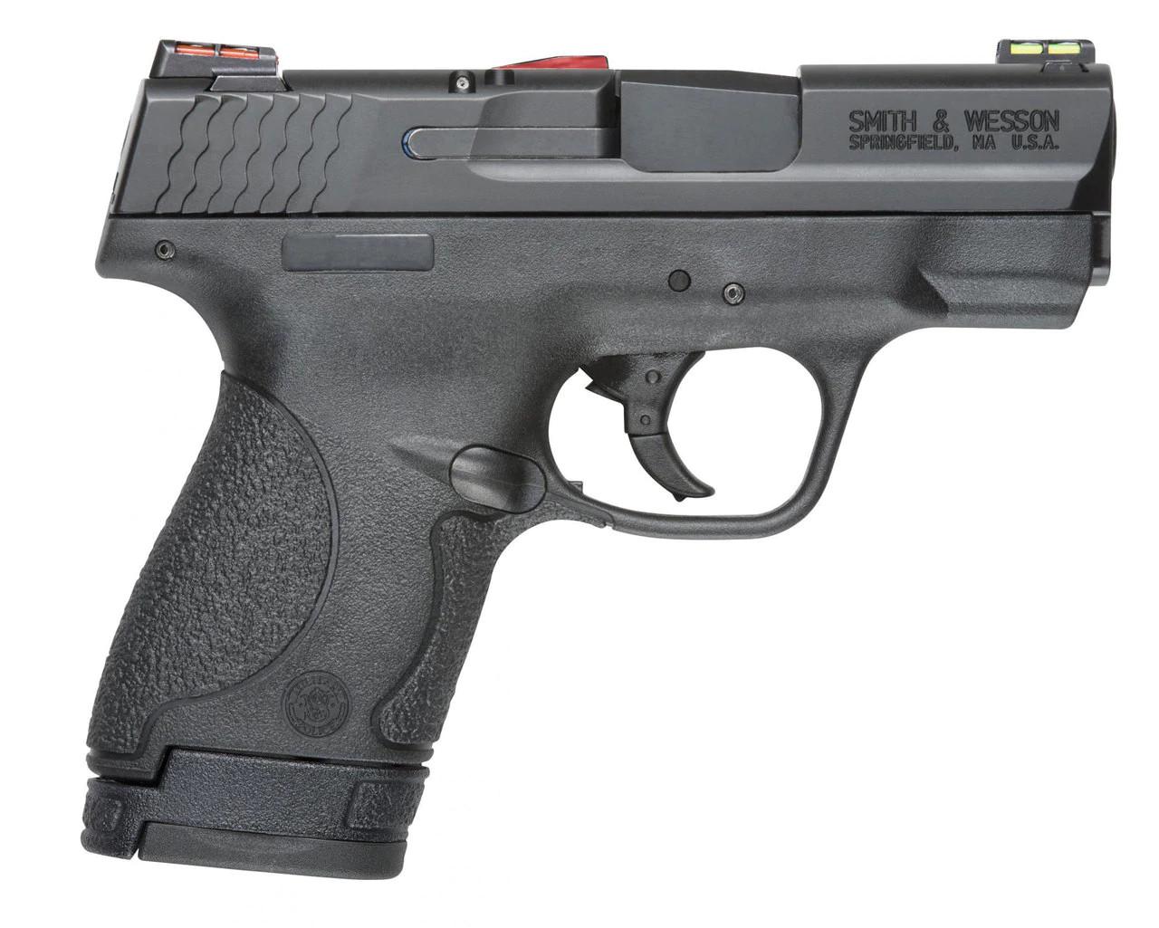 S&W M&P Shield Hi Viz With Crimson Trace Weapons Light CALIFORNIA LEGAL - 9mm
