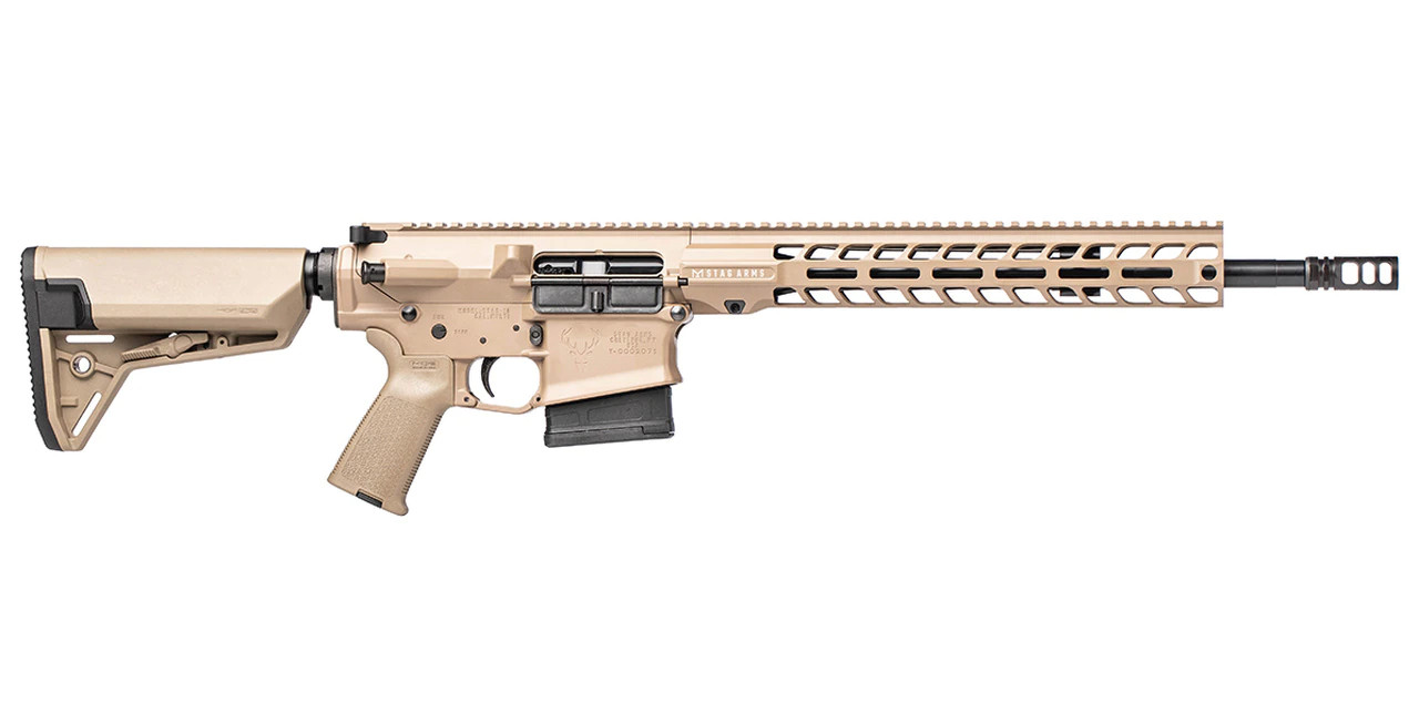 Stag Arms Stag 10  16in QPQ M-Lok CALIFORNIA LEGAL - .308 Win - FDE