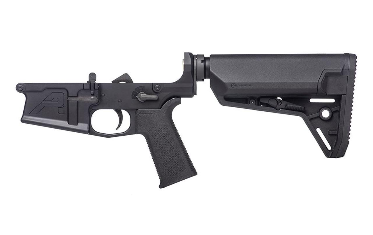 Aero Precision M5 Complete Lower Receiver w/ MOE SL Grip & SL-S Carbine Stock CALIFORNIA LEGAL - .308