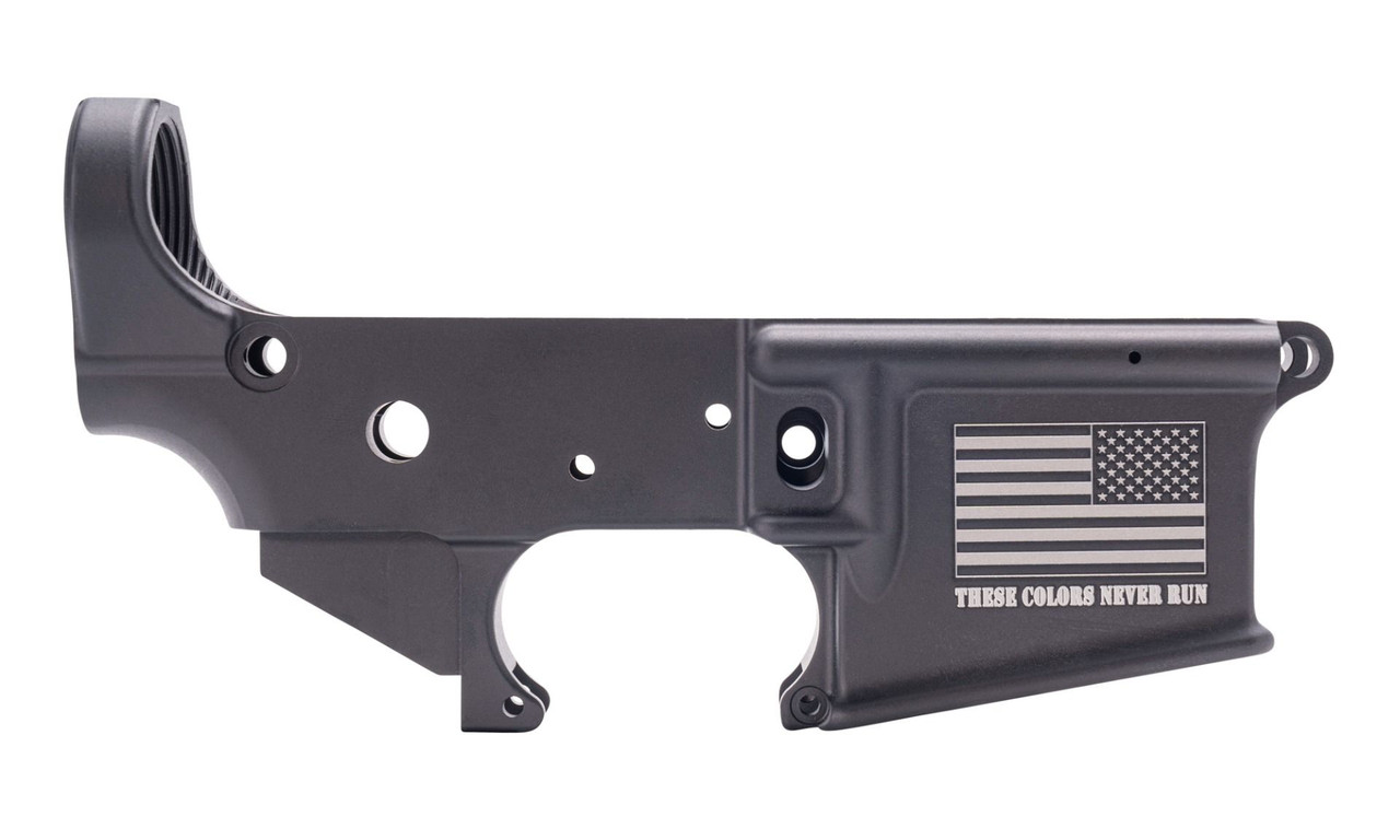 Anderson Mfg These Colors Never Run Stripped Lower CALIFORNIA LEGAL - .223/5.56