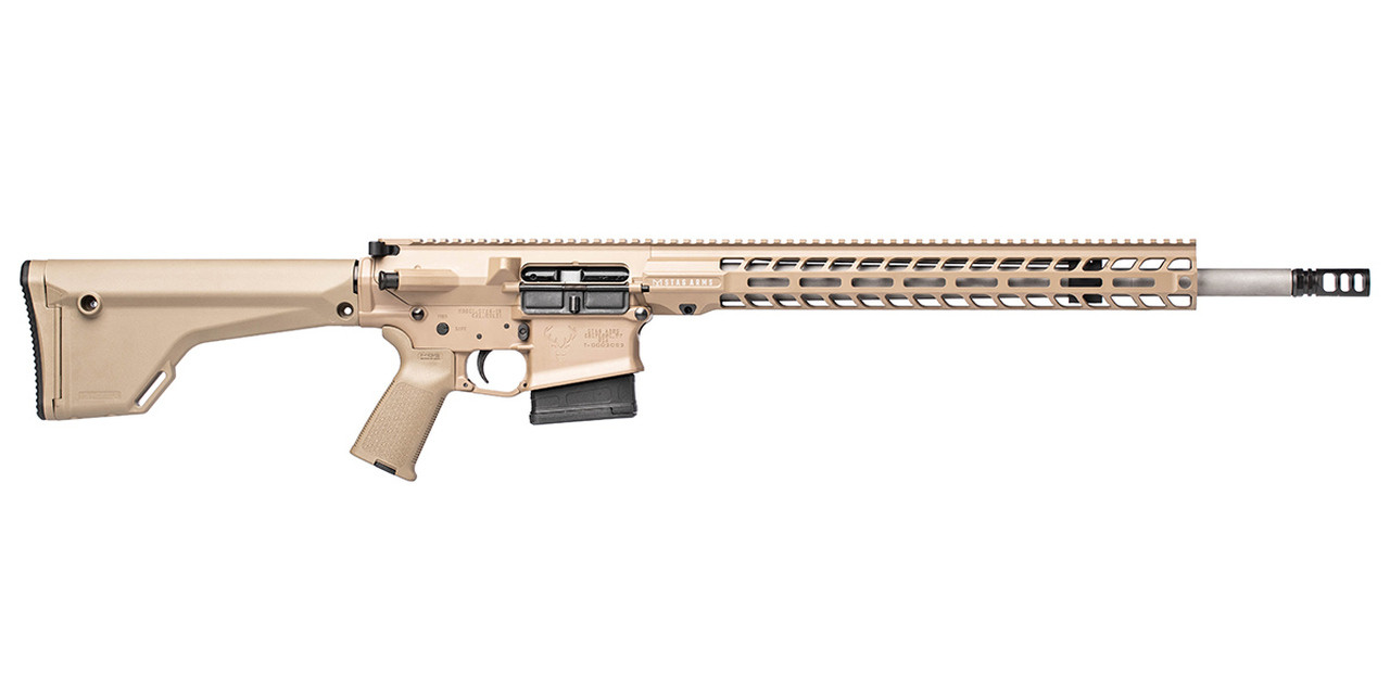 Stag Arms Stag 10 Tactical CALIFORNIA LEGAL - 6.5 Creedmoor - FDE