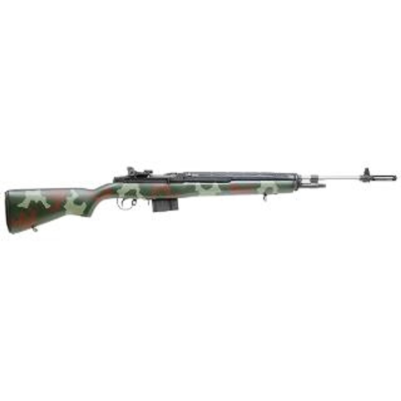 Springfield M1A Super Match SS CALIFORNIA LEGAL - .308/7.62x51 - Green Camo